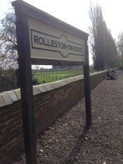 Rolleston on Dove Station at the start of the Jinny Trail