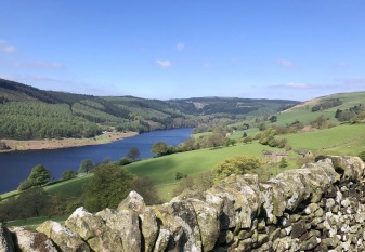Ladybower Reservoir from Abbey Bank