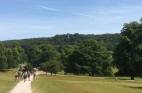 Chatsworth, with the Hunting Tower in the distance