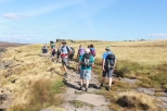 Meandering along Stanage Edge