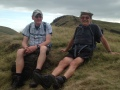 John and Mike on Mount Famine