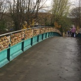 Love Locket Bridge, over the Wye in Bakewell