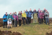 Trig point on Totley Moss