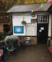 The café at Grindleford Station