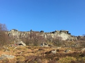 Curbar Edge, from the lower path