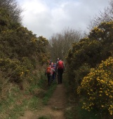 on the climb up to Top Riley - before descent past Riley Grave to Eyam