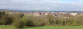 Chesterfield from Tapton Golf Course