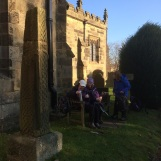 Coffee break at Hope Church - Saxon Cross