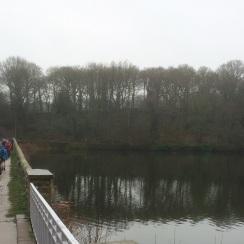 Leaving Linacre Reservoir